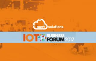 Wert Solutions marca presença no IoT Business Forum 2017